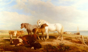 Генри Бриттан Уиллис. Лошади и скот