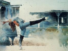 Алекс Державы. Викторианский танец