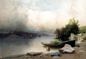 Арсений Иванович Мещерский. На реке