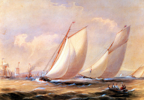 Фредерик Гарлинг. Белые паруса