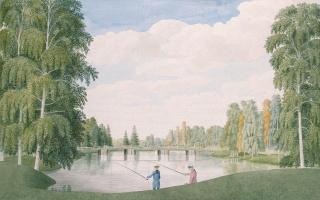 Джеймс Мидер. Английский парк в Петергофе