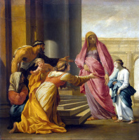 Ezstache Lesuer. The introduction of Mary into the Temple