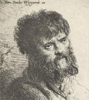 Ян Ливенс. Портрет бородатого мужчины