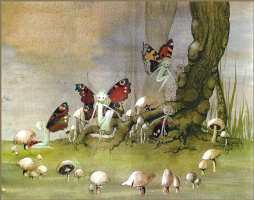 Хазел Браун. Бабочки