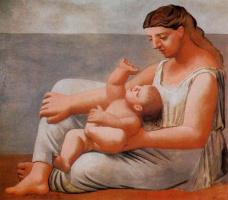 Ю. Пуджиес. Мать и дитя