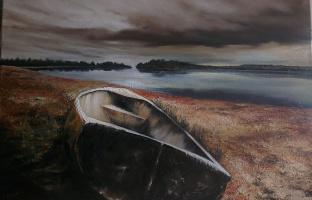 Ирина Гутарова. На озере