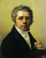 Алексей Гаврилович Венецианов. Автопортрет (вариант II)