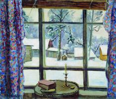 Petr Petrovich Konchalovsky. Window poet