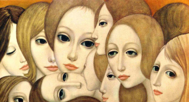 Margaret Kin. Faces of women