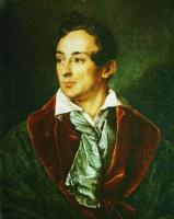 Василий Андреевич Тропинин. Портрет молодого человека в зелёном халате