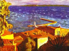 Pierre Bonnard. Pier Of Saint Tropez