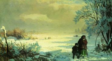 Фёдор Александрович Васильев. Зима
