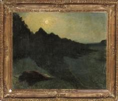 Жан Дельвиль. Лунный пейзаж
