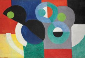 Sonia Delaunay. The rhythm of color