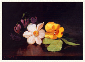 Георг Платт. Горстка цветов