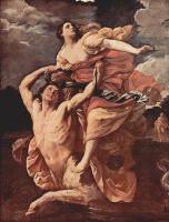 Гвидо Рени. Цикл картин на сюжеты мифа о Геракле. Несс и Деянира