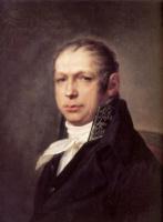 Степан Семенович Щукин. Портрет архитектора Адриана Дмитриевича Захарова