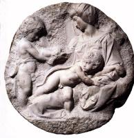 Микеланджело Буонарроти. Тондо Таддеи