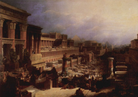Дэвид Робертс. Исход евреев из Египта