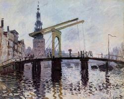 Claude Monet. The Bridge, Amsterdam