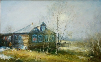 Владимир Афанасьевич Пусовский. Старинный дом