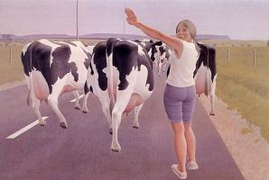 Алекс Колвилл. Остановка для коров