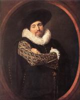 Франс Хальс. Мужской портрет. Возможно, Исаак Масса