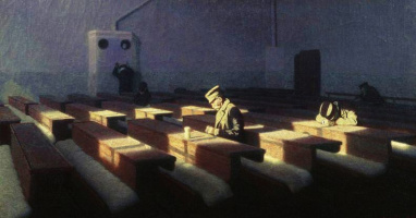 Angelo Morbelli. Christmas for those who stayed