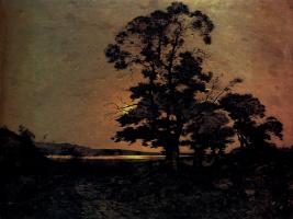 Анри-Жозеф Харпигниес. Лунный свет