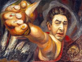 Хосе Давид Альфаро Сикейрос. Автопортрет (El coronelazo)