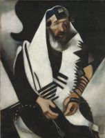 Marc Chagall. Prayer of the Jew (version 2)