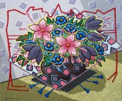 Yuri Vladimirovich Sizonenko. A bouquet of flowers.