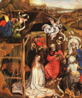 Винченцо Кампи. Рождество Иисуса Христа