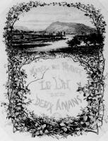 Шарль-Франсуа Добиньи. Титульная виньетка к Поэме о двух влюбленных