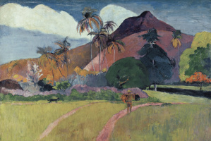 Поль Гоген. Таитянские горы