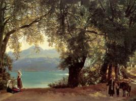 Сильвестр Феодосиевич Щедрин. Озеро Альбано в окрестностях Рима