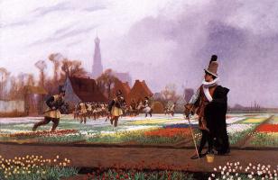 Жан-Леон Жером. Тюльпаны