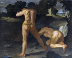 Francisco de Zurbaran. Hercules defeats king Geryon