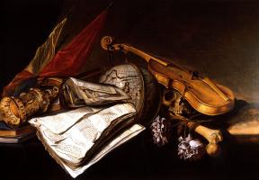 Ян ван Дален. Натюрморт