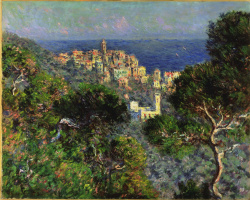 Claude Monet. View Of Bordighera