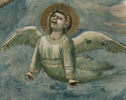 Джотто ди Бондоне. Скорбящий ангел