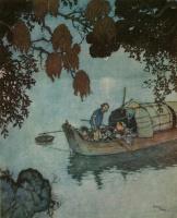 Эдмунд Дюлак. Иллюстрации к Соловью Г. К. Андерсена 02