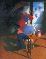 Билл Жаклин. Мужчина и цветы