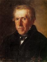 Генрих Ипполитович Семирадский. Портрет отца художника