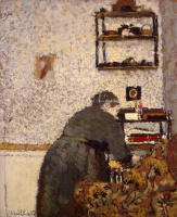 Жан Эдуар Вюйар. Старая женщина в интерьере