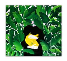Tanya Tkachenko. Banana leaves