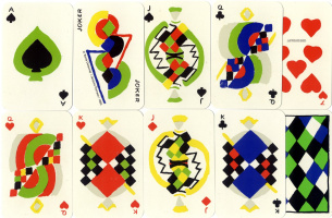 Sonia Delaunay. Playing cards