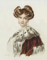 Петр Федорович Соколов. Портрет И.Г.Полетики. 1820-е