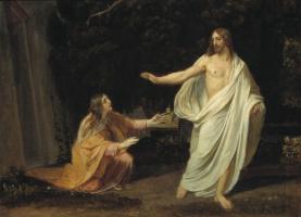 Александр Андреевич Иванов. Явление Христа Марии Магдалине после воскресения