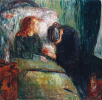 Edvard Munch. Sick girl